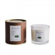 """Aromaterapinė sojų vaško žvakė """"Čiobrelis"""""""