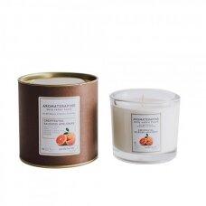 """Aromaterapinė sojų vaško žvakė """"Grapefrutas"""""""