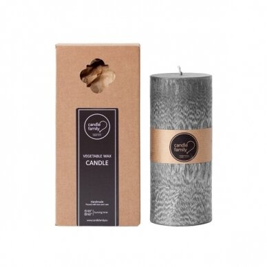 """Palmių vaško žvakė """"MIŠKO MAGIJA"""""""